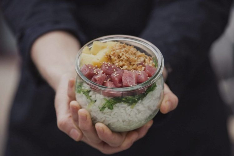 platos de comida sana en barcelona