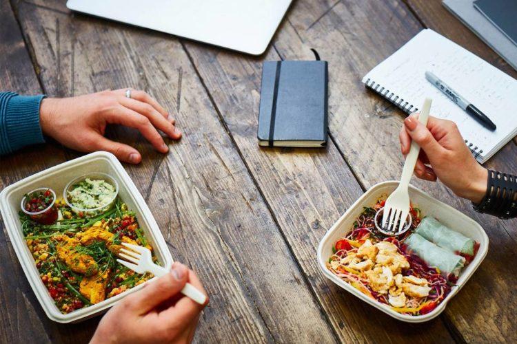 que comer en la oficina saludable